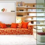 Skrita postelja je idealna za majhna stanovanja