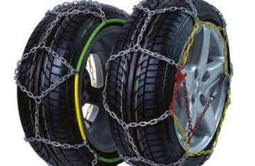 Različne vrste snežnih verig za naše vozilo